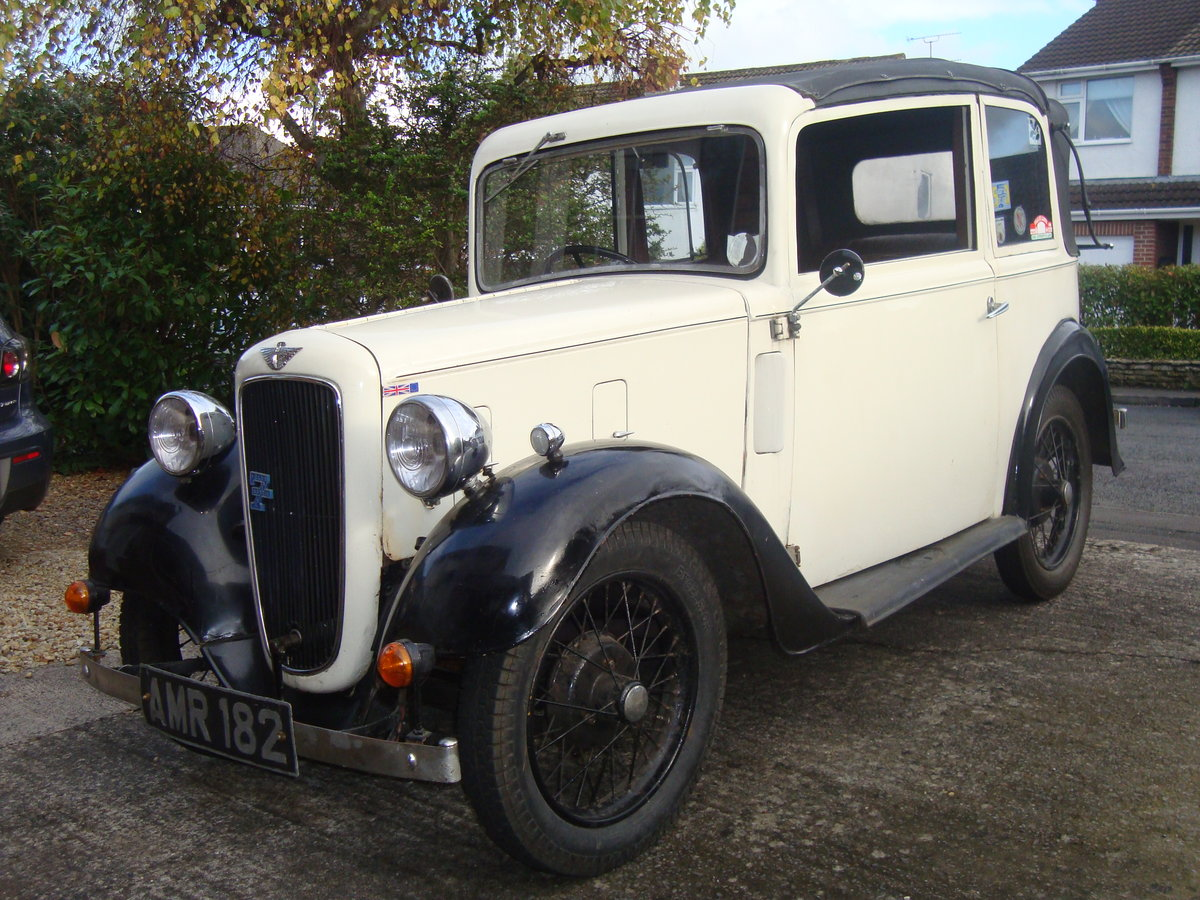 1936 Austin 7  soft-top  For Sale (picture 1 of 6)