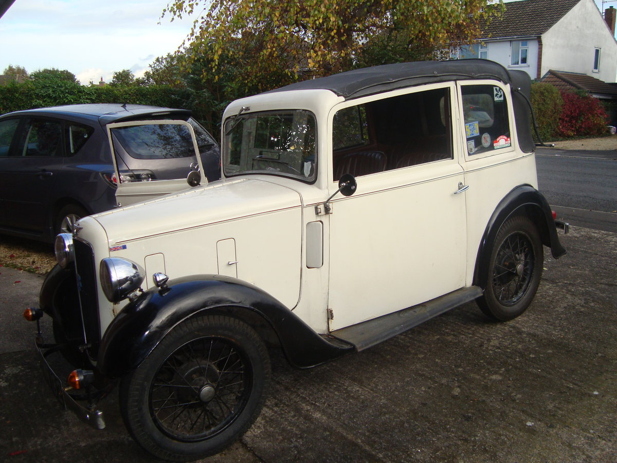 1936 Austin 7  soft-top  For Sale (picture 5 of 6)