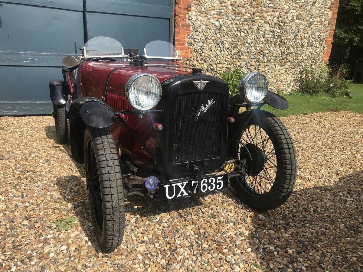 1932 Austin 7 Ulster Replica Seven SOLD (picture 1 of 6)