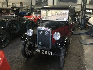 1932 Austin 7 'RP' De Luxe Saloon - Previous Concours Winner For Sale