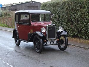 1932 Austin 7 RN Saloon - Beautifully restored For Sale