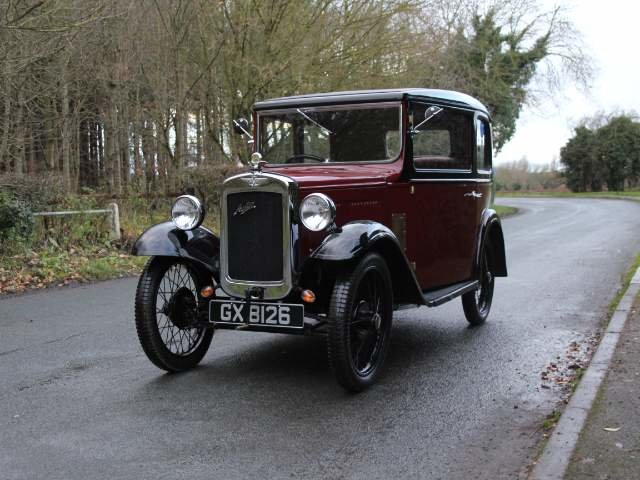 1932 Austin 7 RN Saloon - Beautifully restored SOLD (picture 3 of 23)