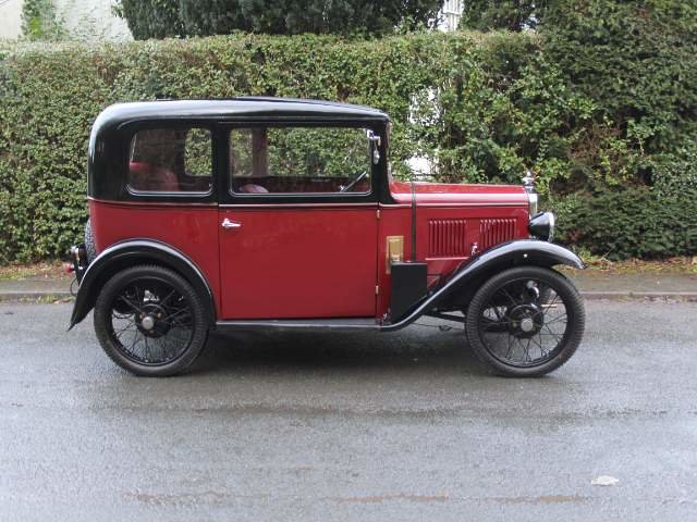 1932 Austin 7 RN Saloon - Beautifully restored SOLD (picture 4 of 23)