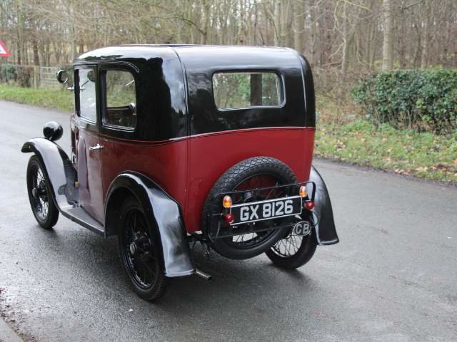 1932 Austin 7 RN Saloon - Beautifully restored SOLD (picture 5 of 23)