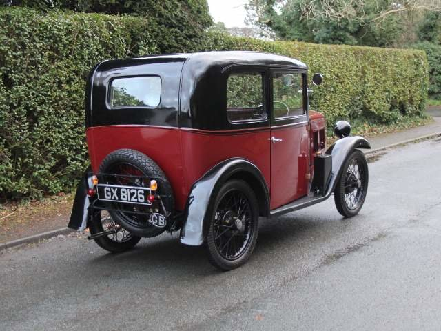 1932 Austin 7 RN Saloon - Beautifully restored SOLD (picture 7 of 23)