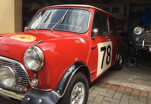 Austin Cooper Mk1 Mini Works 1967 For Sale