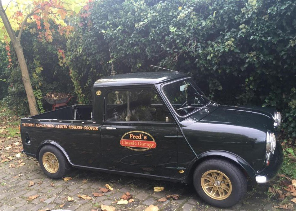 1966 Austin Mini Pickup, very powerfull For Sale (picture 1 of 2)