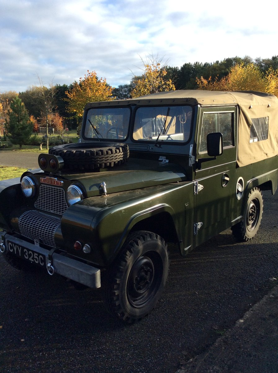 1965 Austin Gipsy SWB  ex Home Office For Sale (picture 1 of 3)