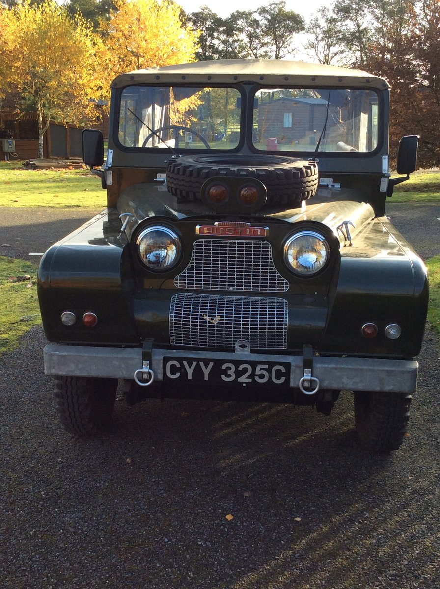 1965 Austin Gipsy SWB  ex Home Office For Sale (picture 3 of 3)