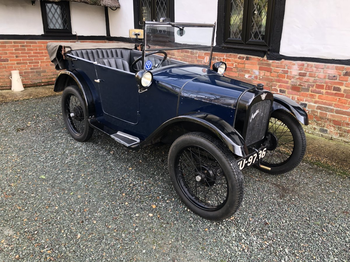 1926 Austin 7 Seven Chummy Tourer Beautiful Fortune Spent For Sale (picture 1 of 5)