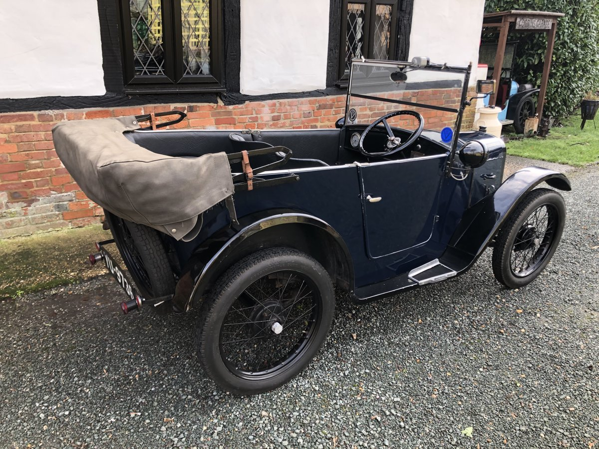 1926 Austin 7 Seven Chummy Tourer Beautiful Fortune Spent For Sale (picture 2 of 5)