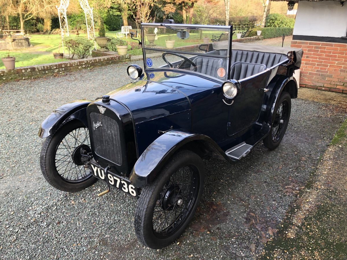 1926 Austin 7 Seven Chummy Tourer Beautiful Fortune Spent For Sale (picture 4 of 5)