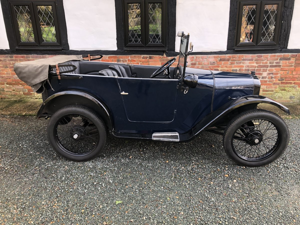 1926 Austin 7 Seven Chummy Tourer Beautiful Fortune Spent For Sale (picture 5 of 5)