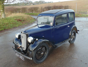 1934 Austin Seven Ruby SOLD