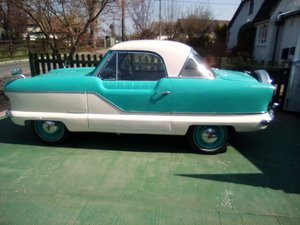 1961 Austin Metropolitan Saloon Turquoise & White  For Sale