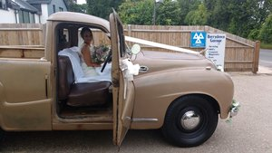 """1951 Austin A70 """"Hereford"""" Pick-up SOLD"""