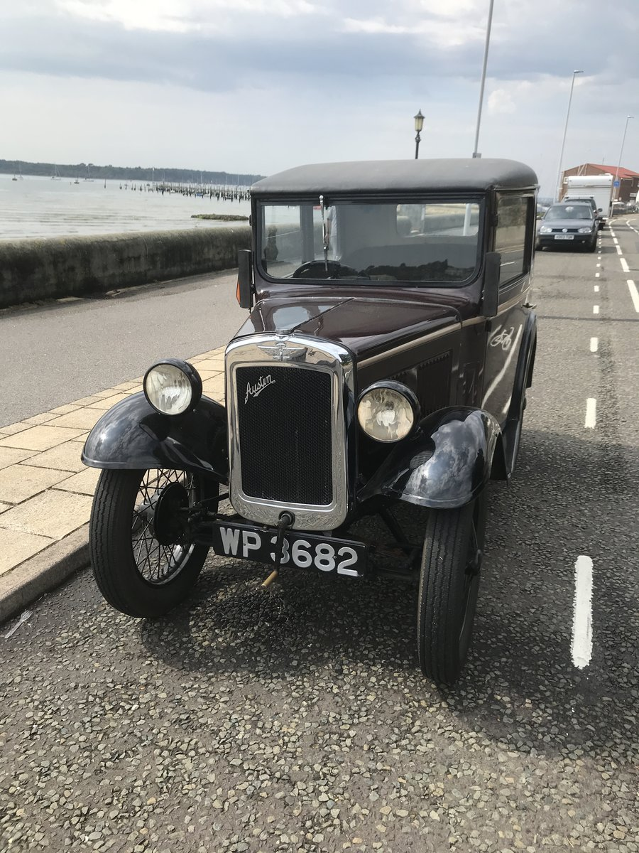 1931 Austin Seven Box Saloon For Sale (picture 1 of 4)