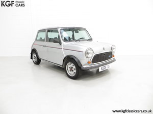1984 Classic Austin Mini 25 Silver Jubilee Commemorative Edition For Sale