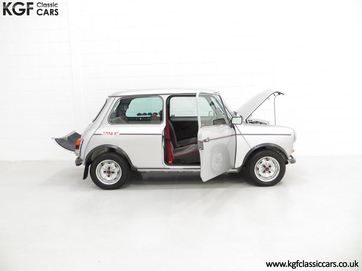 1984 Classic Austin Mini 25 Silver Jubilee Commemorative Edition SOLD (picture 5 of 6)
