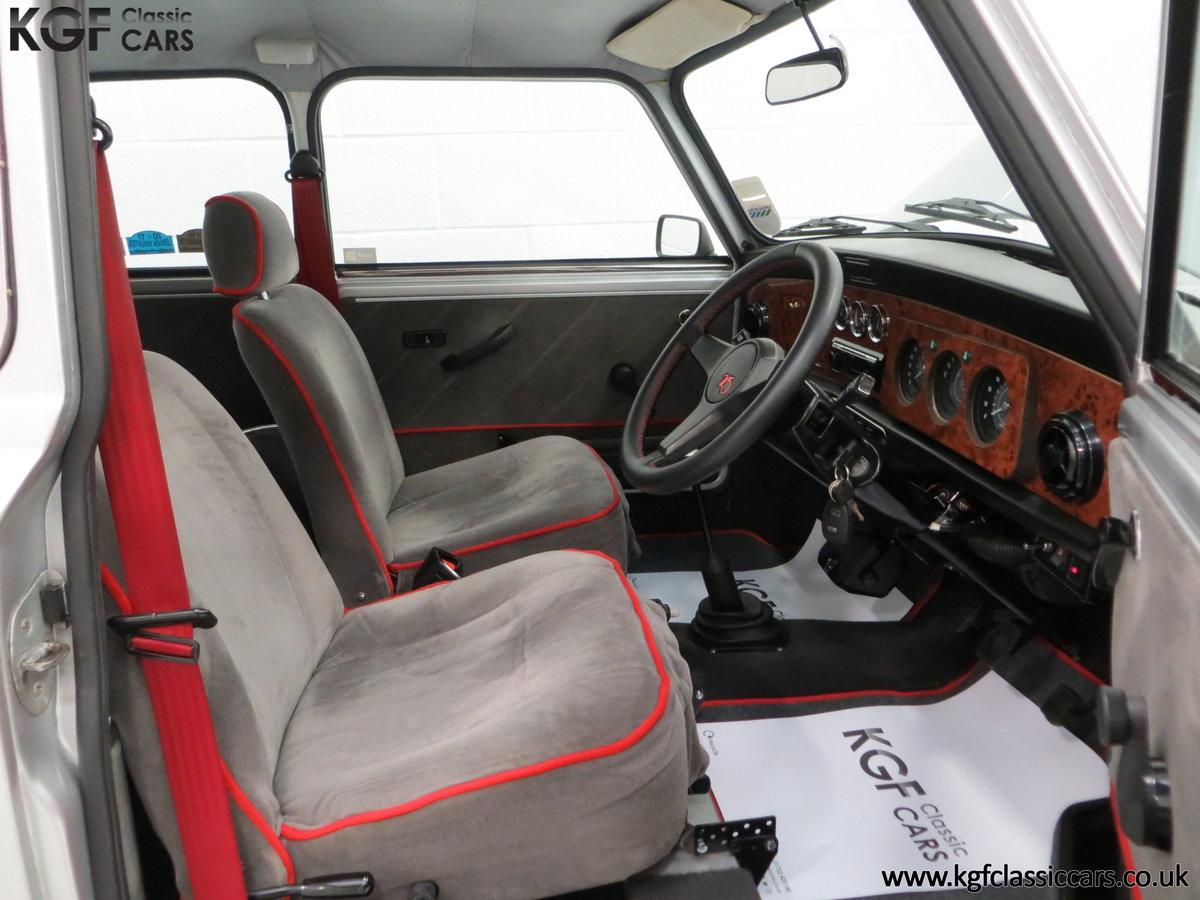 1984 Classic Austin Mini 25 Silver Jubilee Commemorative Edition SOLD (picture 6 of 6)