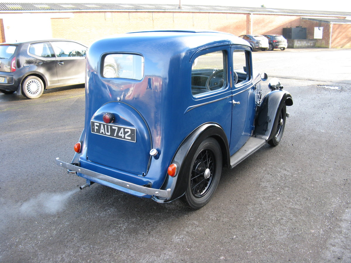 1938 Austin 7 Ruby Mk2 with sunroof For Sale (picture 2 of 6)