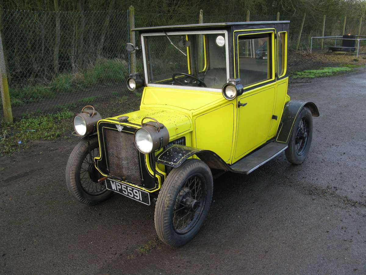 1934 Austin 7 Special Edwardian Style Saloon SOLD (picture 1 of 6)