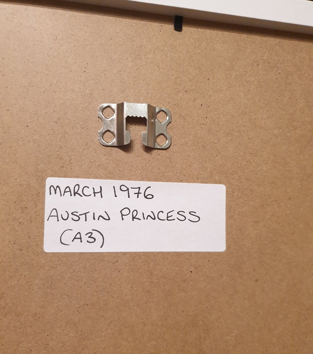 1976 Princess Framed Advert Original  For Sale (picture 2 of 2)