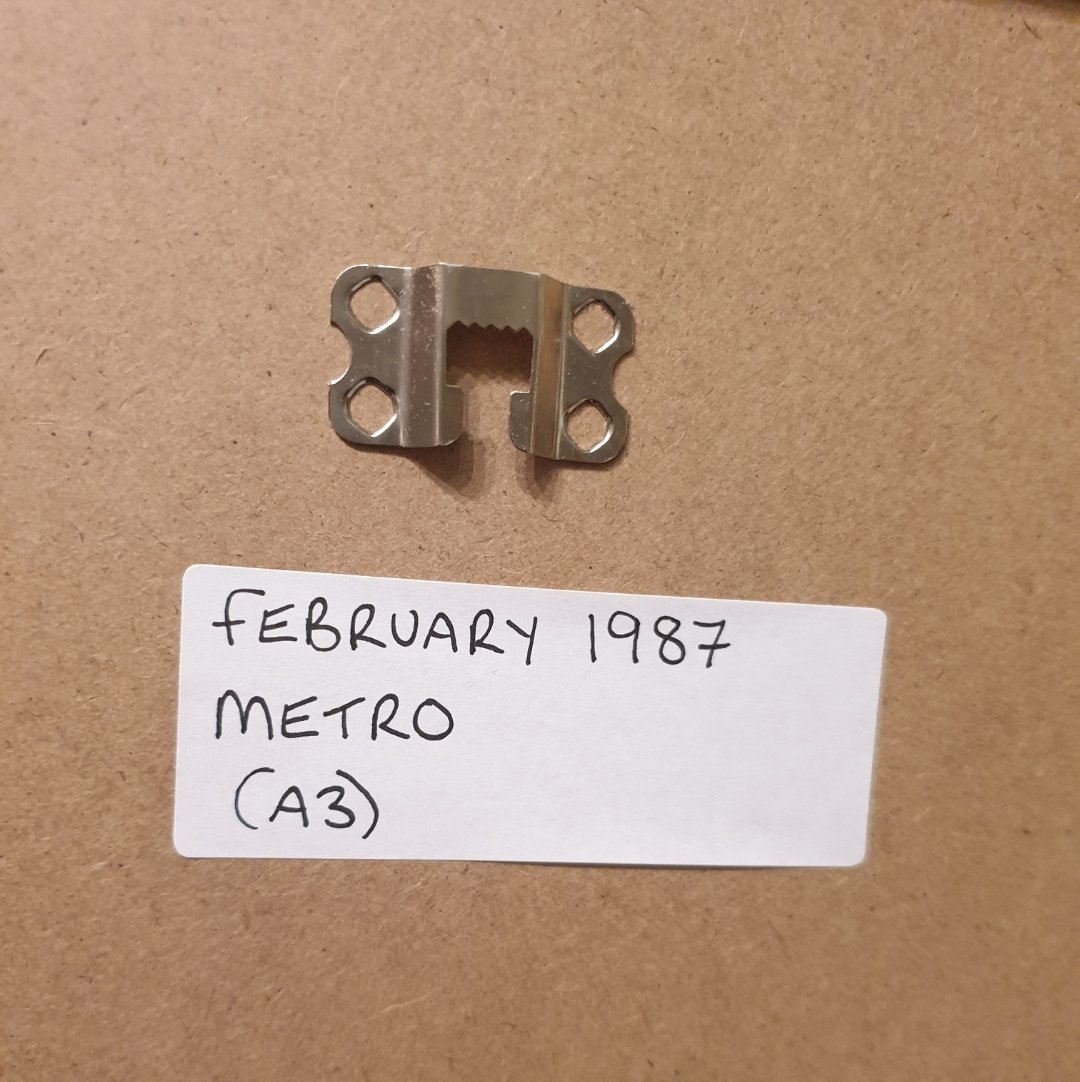 1987 Metro Framed Advert Original  For Sale (picture 2 of 2)