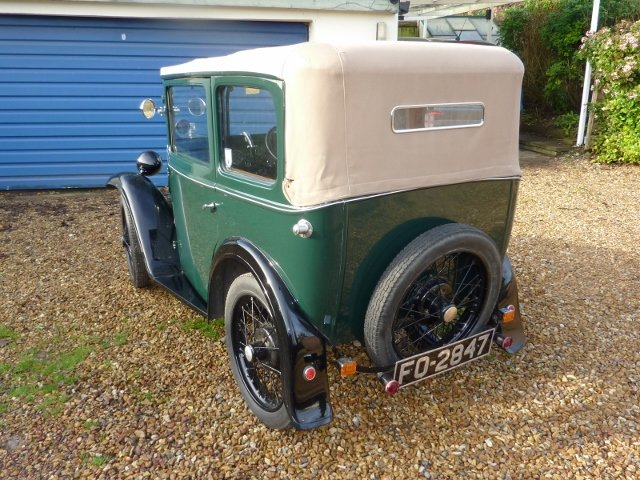 1932 AUSTIN SEVEN TICKFORD CABRIOLET For Sale (picture 1 of 6)