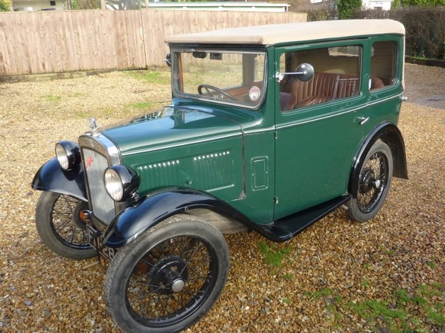 1932 AUSTIN SEVEN TICKFORD CABRIOLET For Sale (picture 2 of 6)