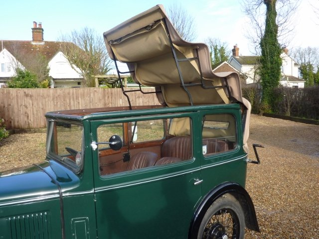 1932 AUSTIN SEVEN TICKFORD CABRIOLET For Sale (picture 3 of 6)
