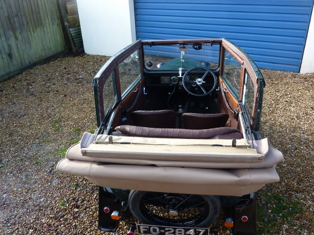 1932 AUSTIN SEVEN TICKFORD CABRIOLET For Sale (picture 4 of 6)