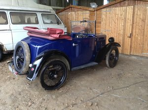 1934 Austin 7 p d tourer  For Sale