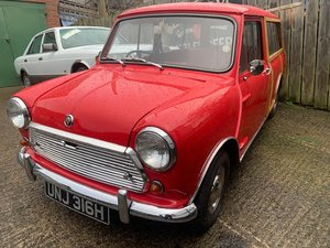 1969 Austin Mini Countryman SOLD by Auction