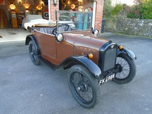Picture of 1925 Austin Seven 'Pram Hood' Chummy  SOLD