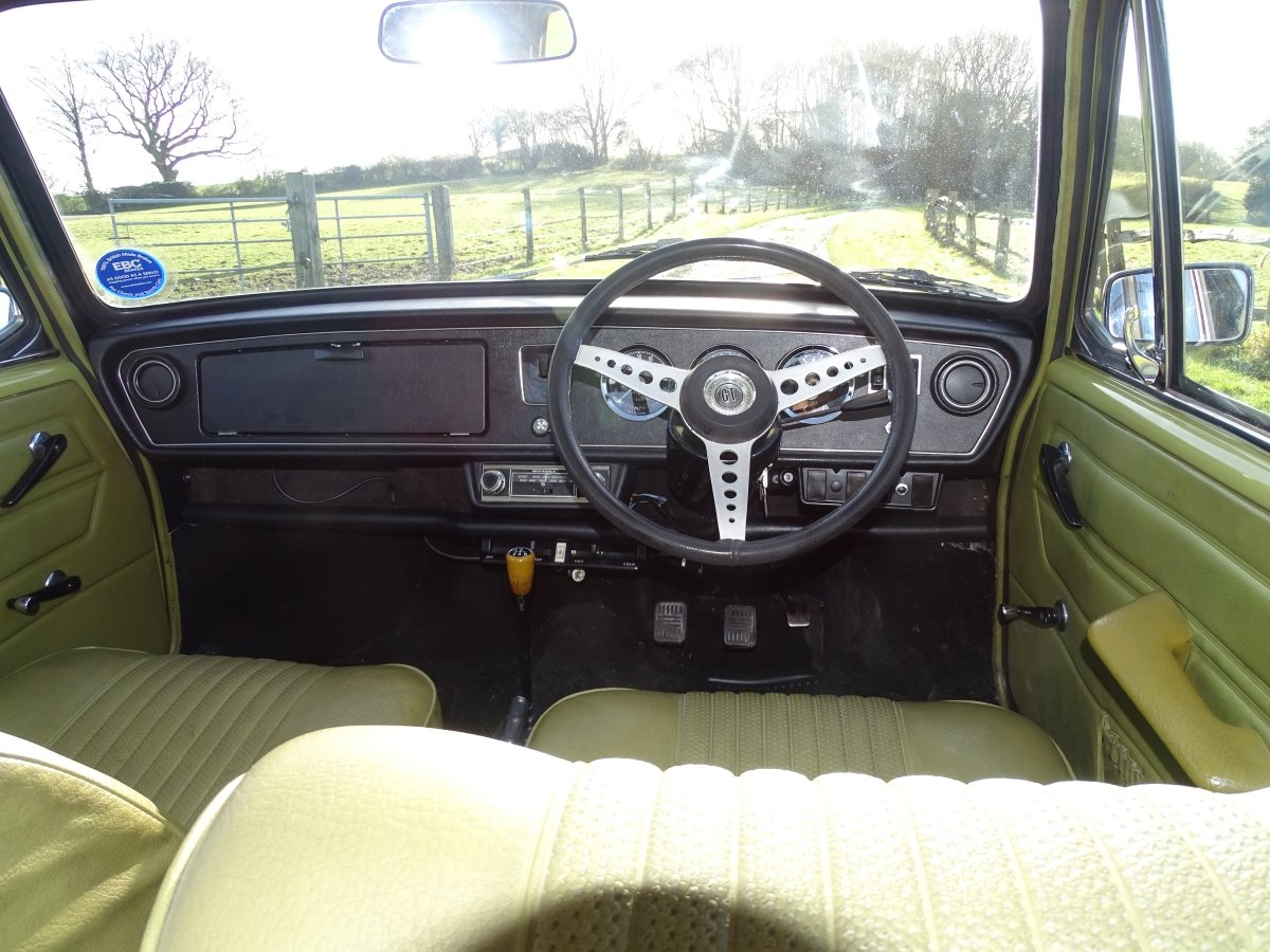 1972 Lovely original Austin 1300GT,good history,51000 miles  SOLD (picture 5 of 6)