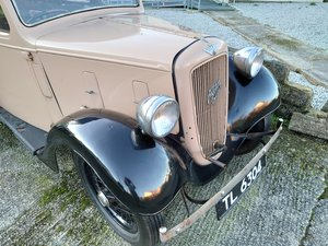 1937 Austin Seven 7 Ruby Mk2 Saloon.Original reg incl. For Sale
