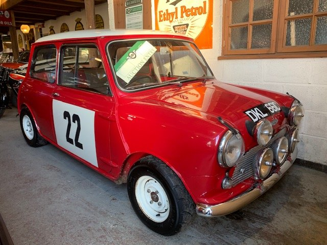 **REMAINS AVAILABLE**1965 Austin Mini Cooper S For Sale by Auction (picture 1 of 1)