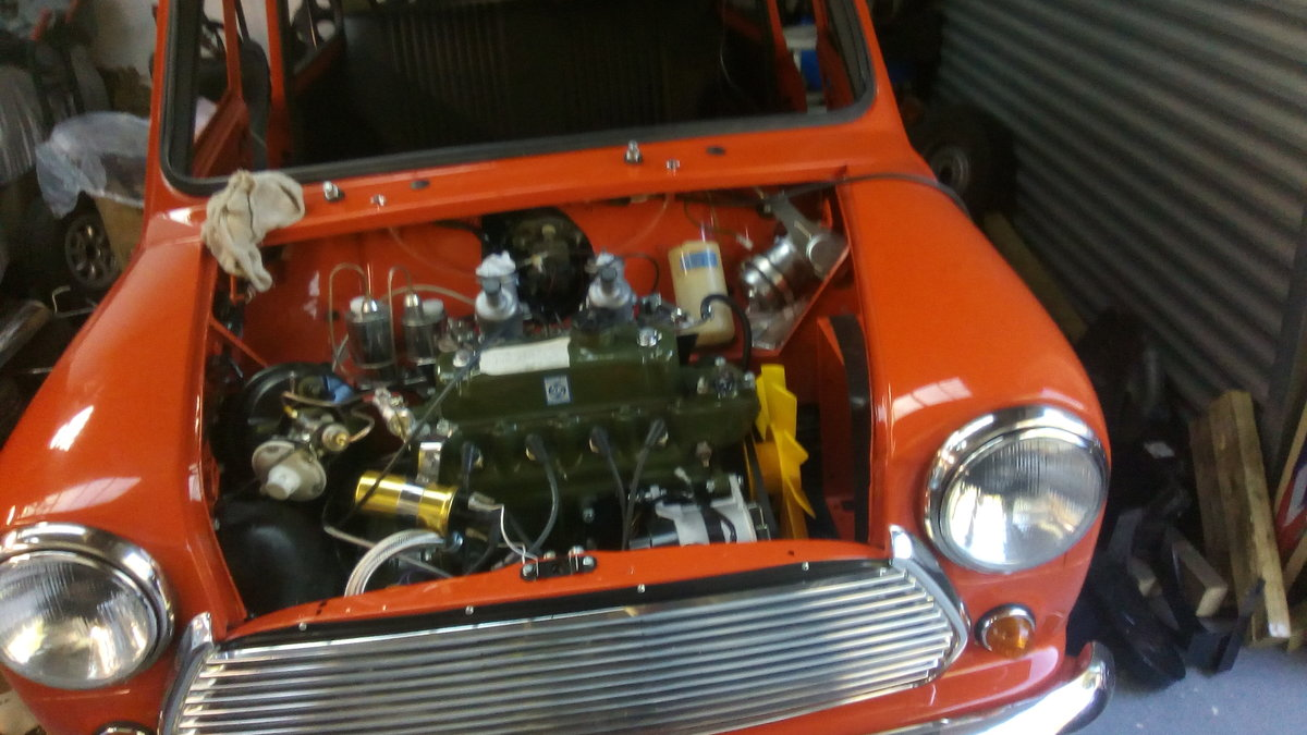 1971AUSTIN Mini Cooper s,rebuilt to as new SOLD (picture 2 of 3)