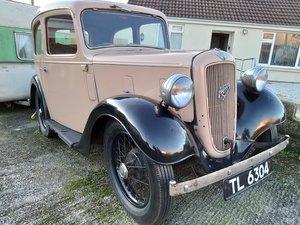 1937 Austin Seven 7 Ruby Mk2 Saloon.Original reg incl. For Sale