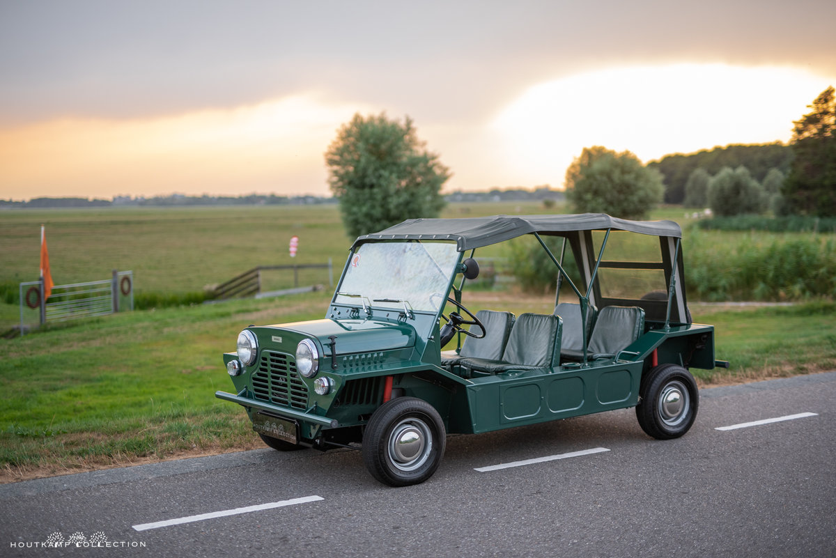 1967 Austin Mini Moke, easy to use and is highly collectible For Sale (picture 1 of 6)