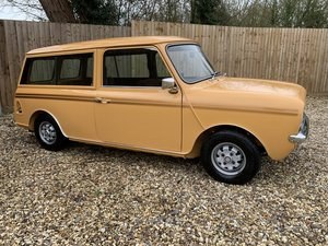 Austin morris mini clubman estate, fully restored