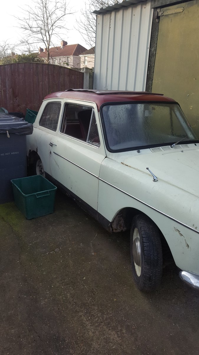 1965 Austin A40 MK1,2 Breaking For Spares For Sale (picture 2 of 4)
