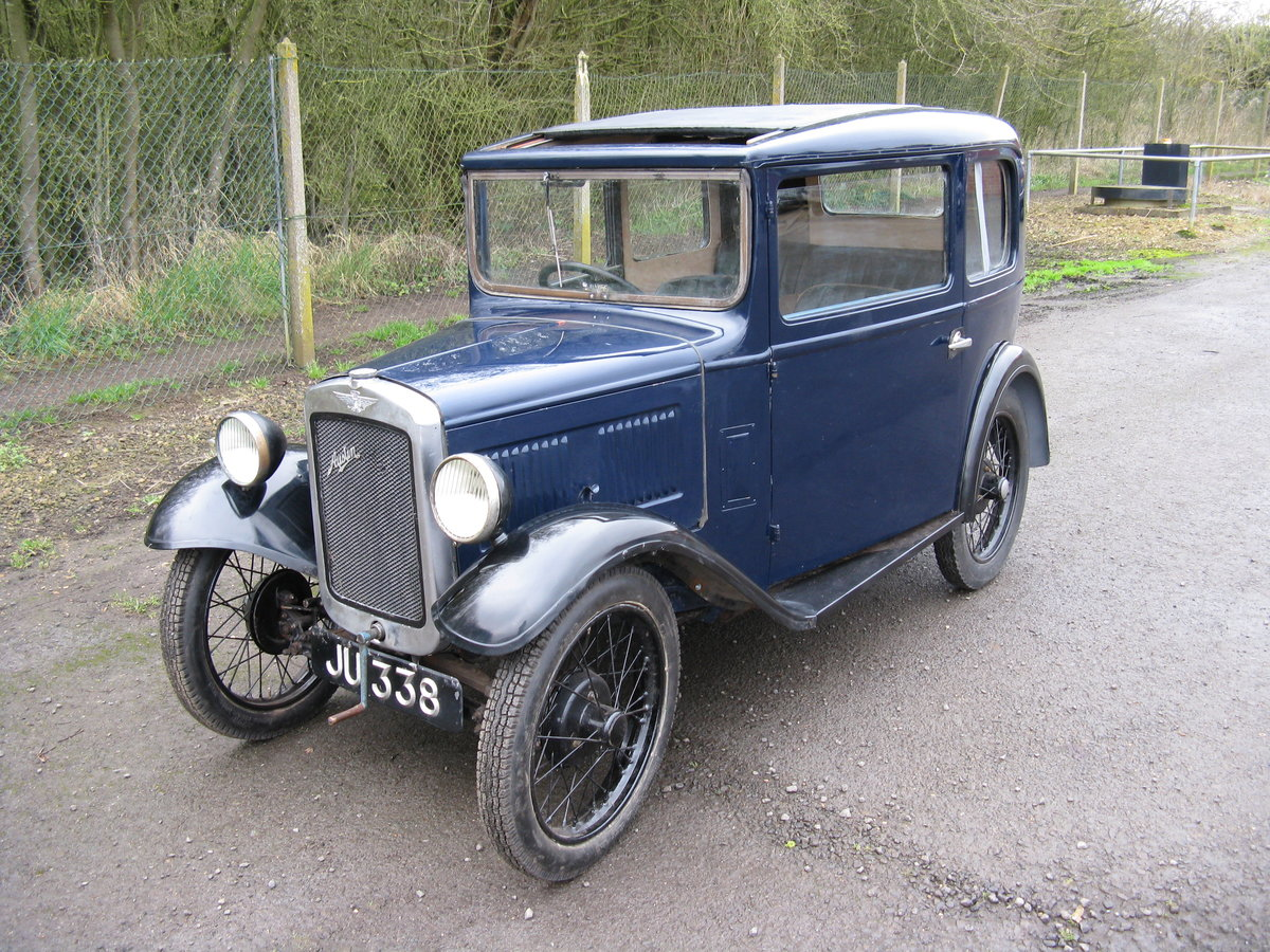 1932 Austin 7 RN Saloon, for restoration SOLD (picture 1 of 6)