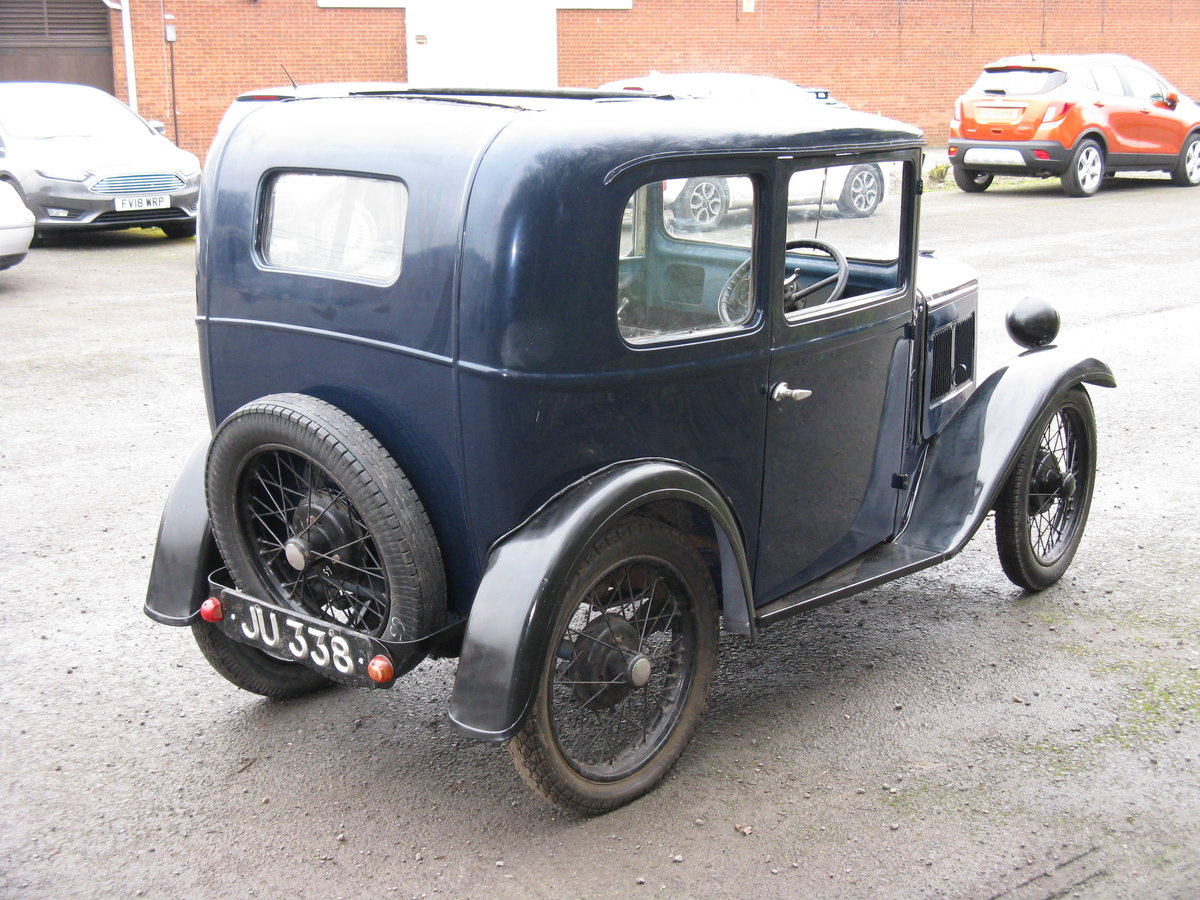 1932 Austin 7 RN Saloon, for restoration SOLD (picture 2 of 6)