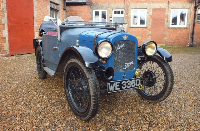 1928 A lovely Austin 7 sports which looks good and goes very well For Sale (picture 1 of 6)