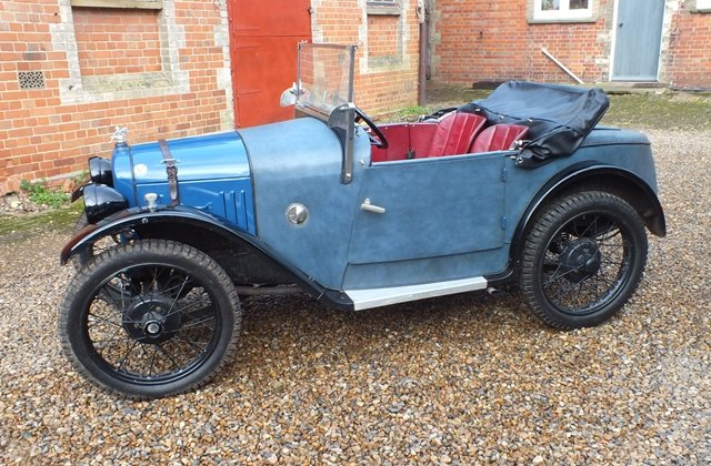 1928 A lovely Austin 7 sports which looks good and goes very well For Sale (picture 2 of 6)