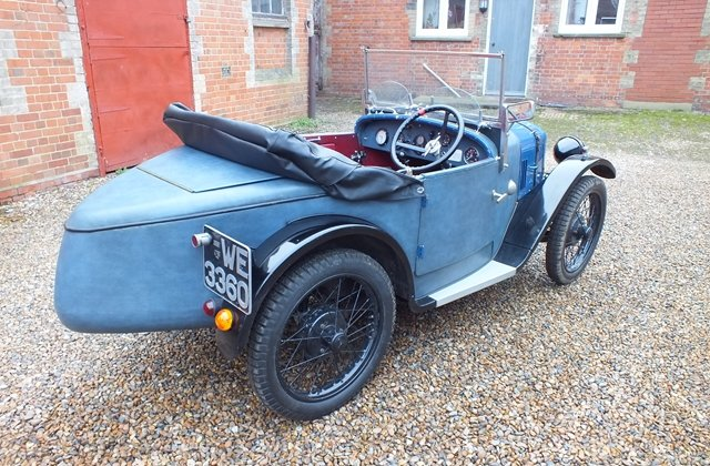 1928 A lovely Austin 7 sports which looks good and goes very well For Sale (picture 3 of 6)
