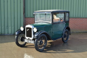 1930 Austin 7 RK Wydor Saloon For Sale by Auction