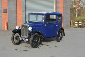 1931 Austin 7 RK Saloon For Sale by Auction